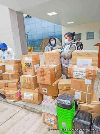Delegado Presidencial para Tarija entrega insumos y equipamiento médico a Yacuiba - elperiodico-digital.com