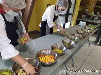 Jeumont : 10 élèves formés comme commis grâce à Cuisine Mode d'Emploi   L'Observateur - L'Observateur