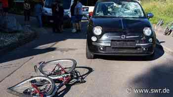 Zaberfeld: Kind bei Autounfall schwer verletzt - SWR