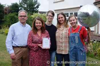 Mum of three wins Malvern Hills College student of the year award - Malvern Gazette