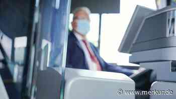 Sailauf/Bayern: Streit um Corona-Maske eskaliert: Busfahrer hindert Fahrgast am einsteigen - der schlägt zu - Merkur.de