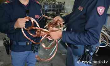 Marano di Napoli, Polfer sequestra 600 chili di rame in deposito abusivo - Pupia.tv - PUPIA