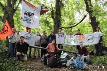 Val d'Oise. Abattage des arbres à Eaubonne : les militants font face aux engins de chantier - La Gazette du Val d'Oise - L'Echo Régional
