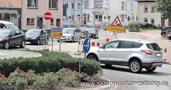 Verkehrsärger in Saarwellingen: Umleitung wegen Bauarbeiten - Saarbrücker Zeitung