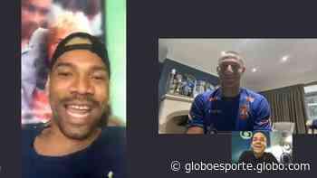Hoje na Seleção, ontem tiete de CR7: a história da foto de Caça-Rato e Richarlison que viralizou - globoesporte.com