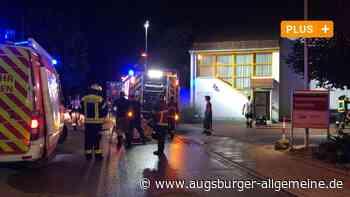 Brand im AWO-Seniorenheim in Gersthofen: So lief der Großeinsatz ab - Augsburger Allgemeine