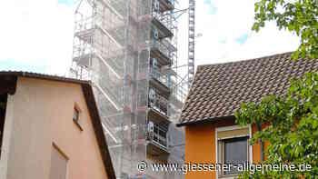 Langder Kirchturm wird saniert - Gießener Allgemeine