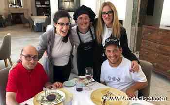 'El Langui' y Jesús Vidal visitan el restaurante inclusivo Universo Santi - TODO DISCA