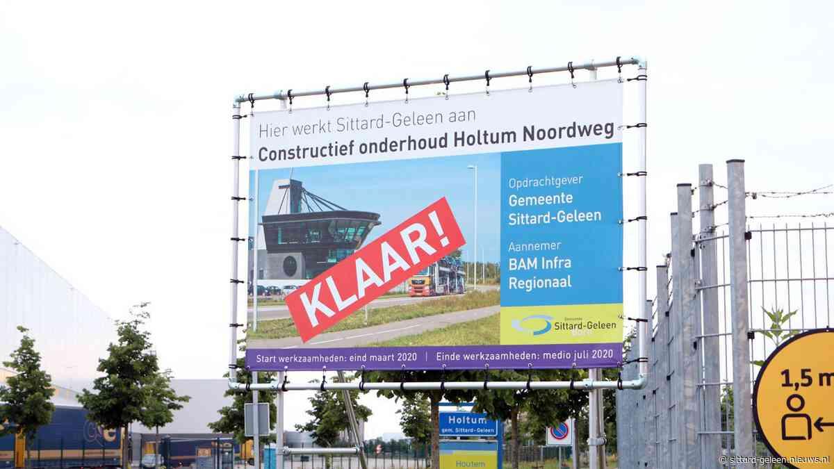 Werkzaamheden afgerond: Holtum-Noordweg klaar voor de toekomst - Sittard-Geleen.nieuws.nl