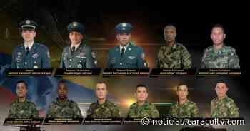 Hallan últimos dos cuerpos de militares que murieron en siniestro de helicóptero en río Inírida - Noticias Caracol