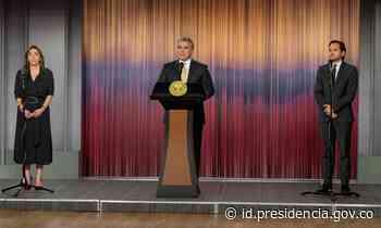 Duque designa a Diego Mesa Puyo como MinEnergía, en reemplazo de María Fernanda Suárez - Presidencia de la República de Colombia