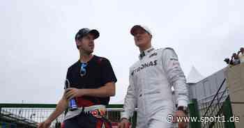 Formel 1: Sebastian Vettel wollte Schumacher-Rekorde vor Hamilton retten - SPORT1