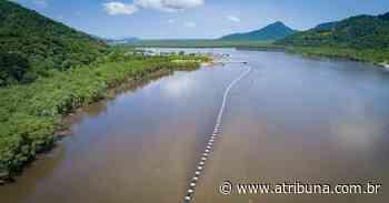 Praia Grande tem megaoperação para o prolongamento do Emissário do Tupi - A Tribuna