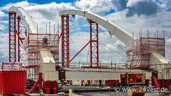 Datteln: Kanalbrücke für Umgehungsstraße B474n - wann ist sie fertig? - 24VEST