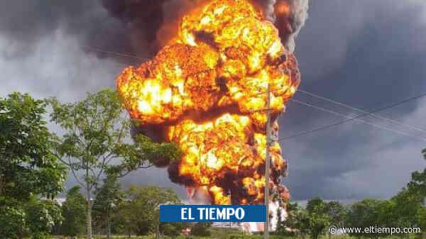 Nuevo atentado contra el oleoducto Caño Limón-Coveñas, en Arauca - El Tiempo