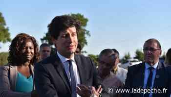 Le ministre de l'Agriculture en visite à Floirac - LaDepeche.fr
