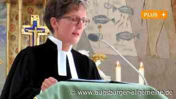 Pfarrerin Annedore Becker hinterlässt große Fußabdrücke - Augsburger Allgemeine
