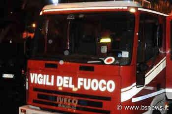 Fumo nero ad Adro: brucia un container in un'azienda | BsNews.it - Brescia News - Bsnews.it