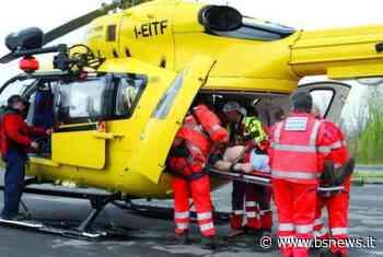 Adro, incidente frontale: arriva l'eliambulanza | BsNews.it - Brescia News - Bsnews.it