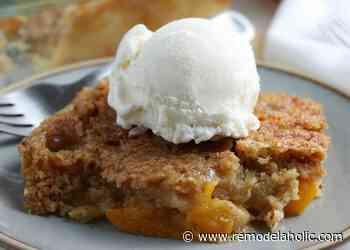 Easy Peach Dump Cake Recipe
