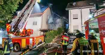 Erneut Carportbrand in Borchen - Flammen greifen auf Wohnhaus über - Neue Westfälische
