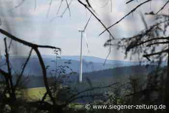 Stadt zieht vor Gericht: Klage gegen die vier Windkraftanlagen - Siegener Zeitung