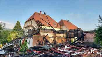 Feuer im Eichsfelddorf Wahlhausen bleibt auf Scheune beschränkt - HNA.de