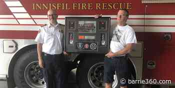 Local volunteer firefighter hangs up his hat after 29 years serving Innisfil – Barrie 360 - Barrie 360