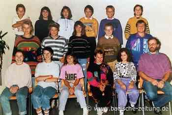 Auf ein letztes Pausenhofbier mit dem Ex-Klassenlehrer - Bonndorf - Badische Zeitung