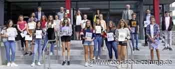 Realschüler sahnen Preise ab - Bonndorf - Badische Zeitung