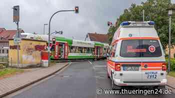 Thüringen: Drama am Bahnübergang! Achtjähriger wird in Bad Berka von Zug erfasst - Thüringen24