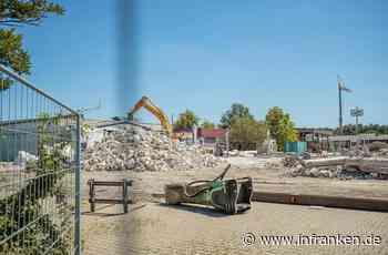 Bagger rollen in Burgebrach - für Aldi-Markt - inFranken.de