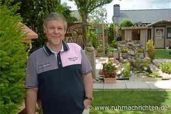 Blick in den Garten: Eine Oase mit Wasserfall mitten in Werne - Ruhr Nachrichten