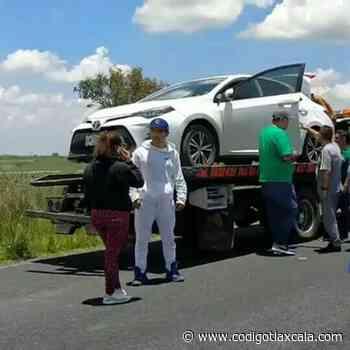 Detienen a 4 Asaltantes de Carretera en Tlaxco - Código Tlaxcala
