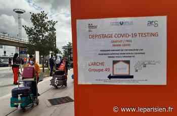 Covid-19 : à l'aéroport d'Orly, les dépistages vont se multiplier et devenir obligatoires pour certains voyageurs - Le Parisien