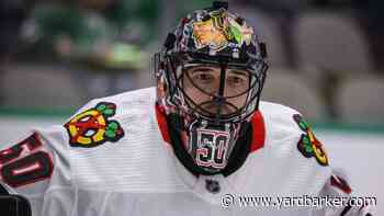 Corey Crawford returns to Blackhawks after contracting COVID-19
