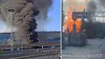 Un bus prend feu à l'aéroport d'Orly - Courrier Picard