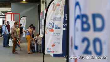 À Lille, la gare Saint-Sauveur fête la BD et décoince la bulle jusqu'au 9 août - La Voix du Nord