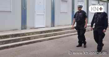 Acht Polizisten sorgen im Levo-Park in Bad Segeberg für Ordnung - Kieler Nachrichten