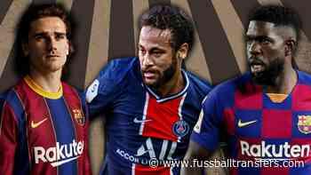 Barça: Die Strategien bei Griezmann, Neymar & Umtiti - FussballTransfers.com