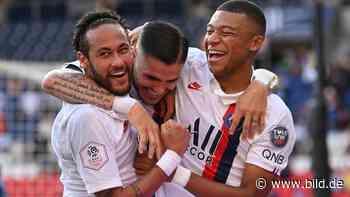 Neymar: Paris St-Germain – Elfer-Trick und Provokation bei PSG-Kantersieg - BILD