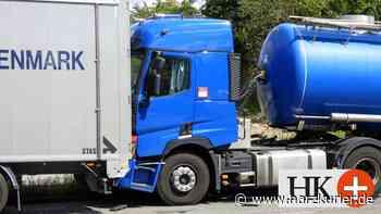 Unfall in Herzberg: Lastwagen fährt auf Vordermann auf - HarzKurier