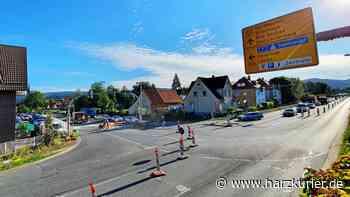 Bauarbeiten Herzberg: Verkehrslage Kreuzung B27/243 entspannt - HarzKurier