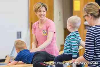 Sylvia Dahlinger bietet seit 23 Jahren Eltern-Kind-Turnen: Mit Geräten und viel Fantasie - Wochenblatt-Reporter