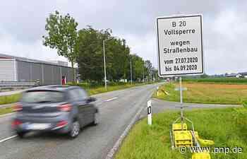 B20-Sperrung: Ab Montag gilt's - Burghausen/Burgkirchen - Passauer Neue Presse