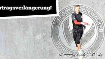 Torwart Marius Herzig verlängert seinen Vertrag beim Regionalligisten Wacker Burghausen bis 2021 - rosenheim24.de