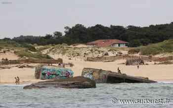Capbreton (40) : un obus découvert plage Santocha - Sud Ouest