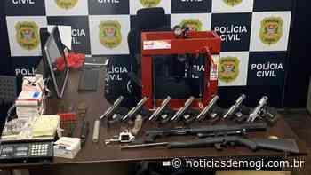 Polícia Civil apreende dez armas em Arujá e Santa... - Notícias de Mogi