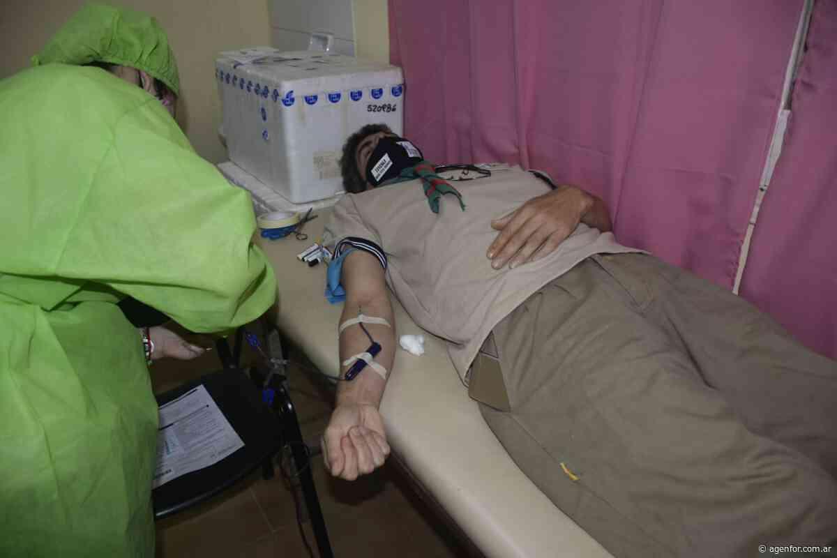 Exitosa colecta de sangre en Buena Vista - Agenfor