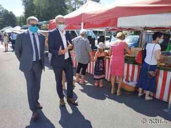 Jura. À Lons-le-Saunier, le préfet réfléchit à rendre obligatoire le port du masque sur le marché - actu.fr